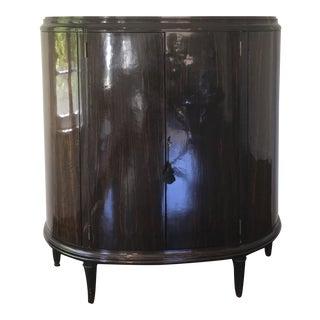 Dessin Fournir Neoclassical Aline Demilune Cabinet