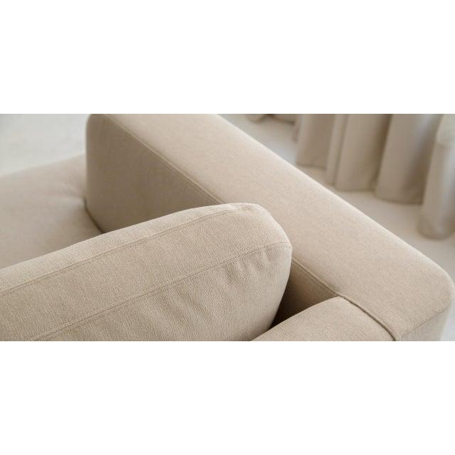 Tan Borgo Sofa For Sale - Image 8 of 9