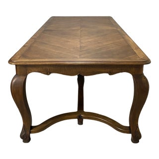 Antique French Drexel Dining Table For Sale