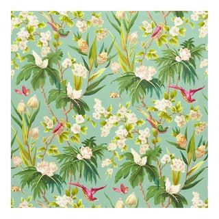 Nib Schumacher Seychelles Cotton Fabric - 5 Yards For Sale