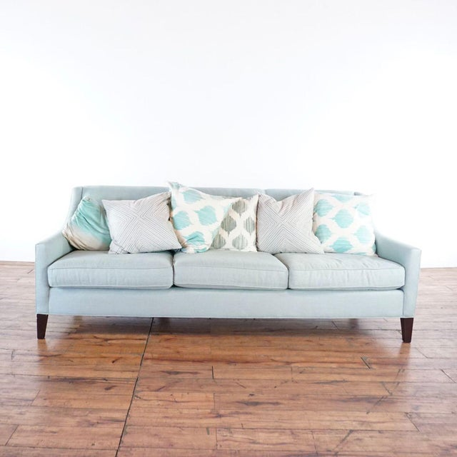Mitchell Gold + Bob Williams Upholstered Sofa. Brand is Mitchell Gold + Bob Williams. Dimensions (in): 87.0 W x 34.0 D x...
