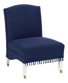 Image of English Traditional Slipper Chairs