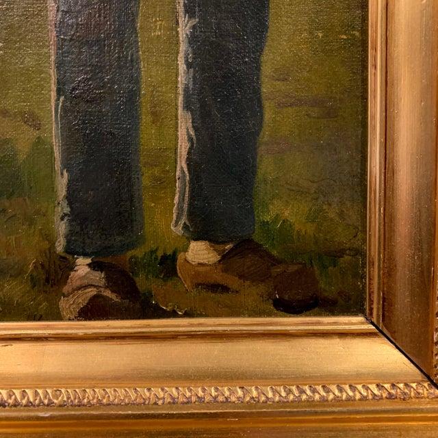 Frants Henningsen (1850-1908), Portrait of a Farmer For Sale - Image 4 of 9