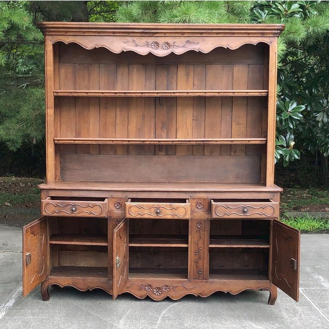 French 19th Century Country French Vaisselier ~ Buffet For Sale - Image 3 of 13