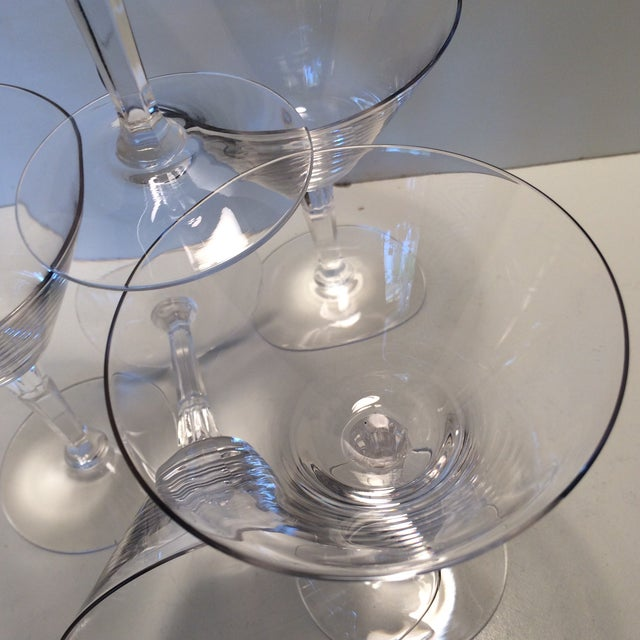 Set of 5 Cocktail or Champagne Glasses by Fostoria For Sale - Image 12 of 13