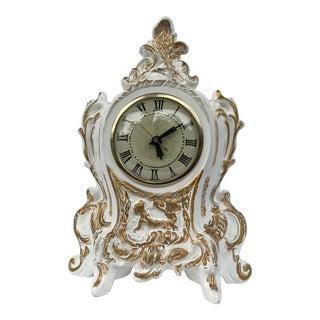 1950's Lanshire Mantle Clock For Sale