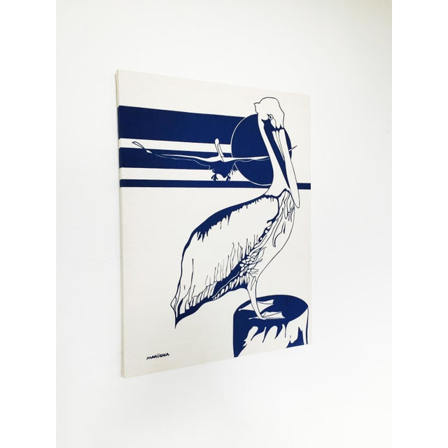 Vintage Marüshka Pelican Screen Print - Image 2 of 4