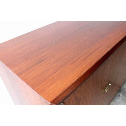 Walnut Credenza Attributed to Harvey Probber - Image 7 of 8