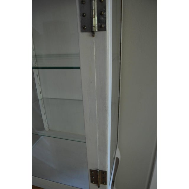 Apothecary Dental Steel and Glass Cabinet - Image 9 of 10