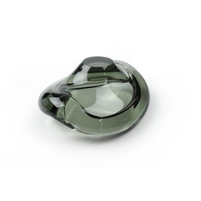 Green Per Lutken for Holmegaard Akva Ashtray For Sale - Image 8 of 9