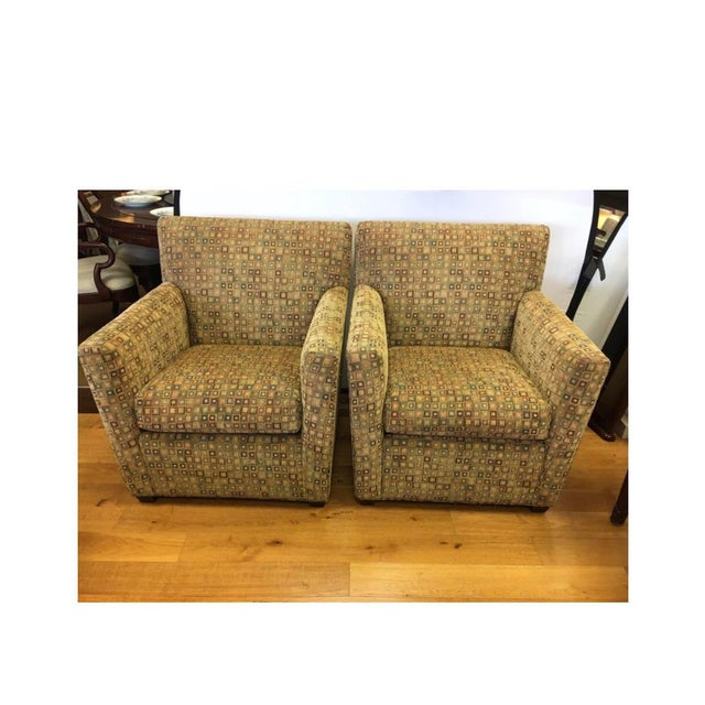 Maurice Villency Mid-Century Matching Arm Chairs Reading Chairs - a Pair For Sale - Image 11 of 11