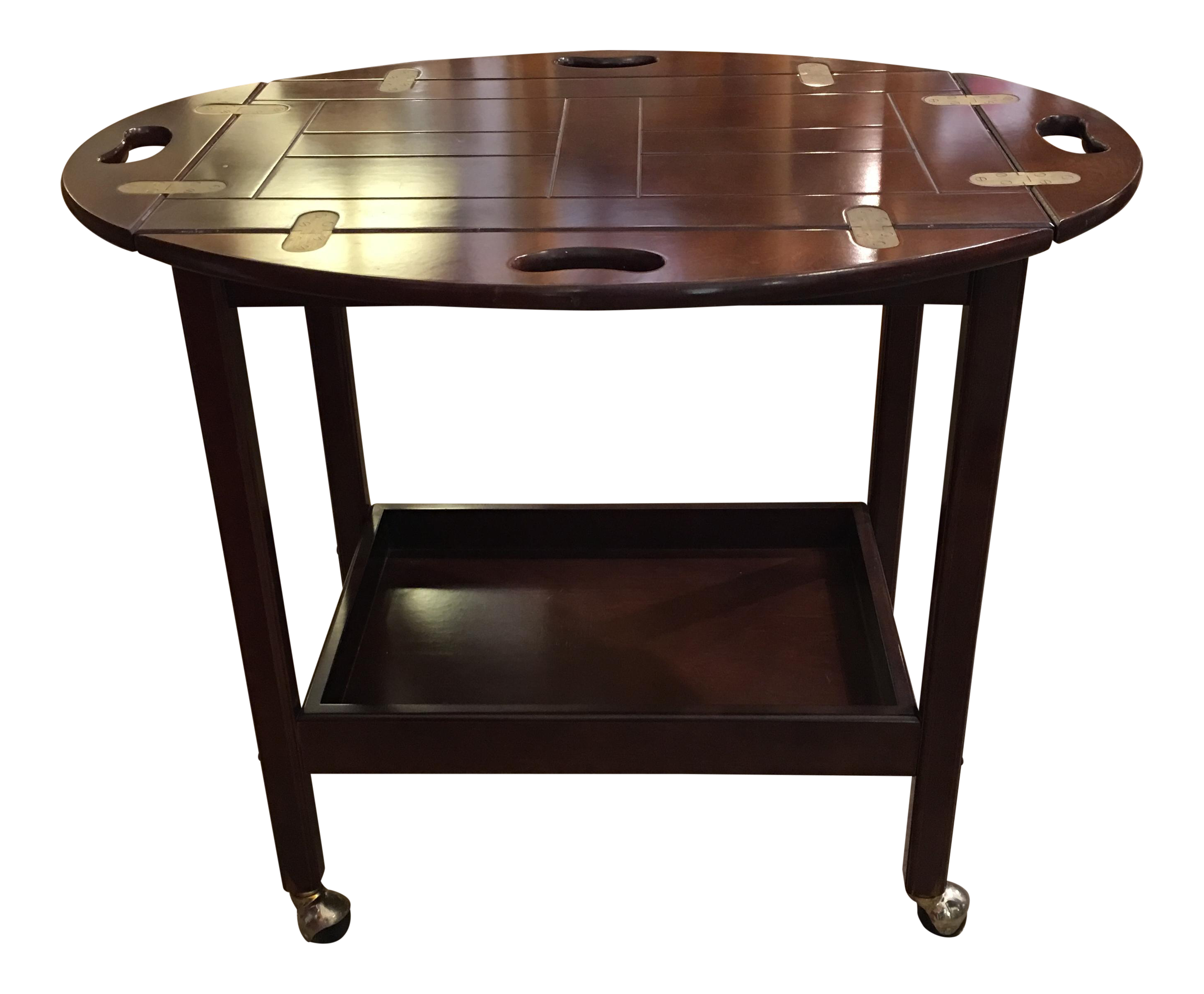 Butler Tray Table/Cart On Casters