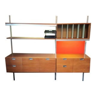 George Nelson for Herman Miller Mid-Century Css Wall Unit For Sale