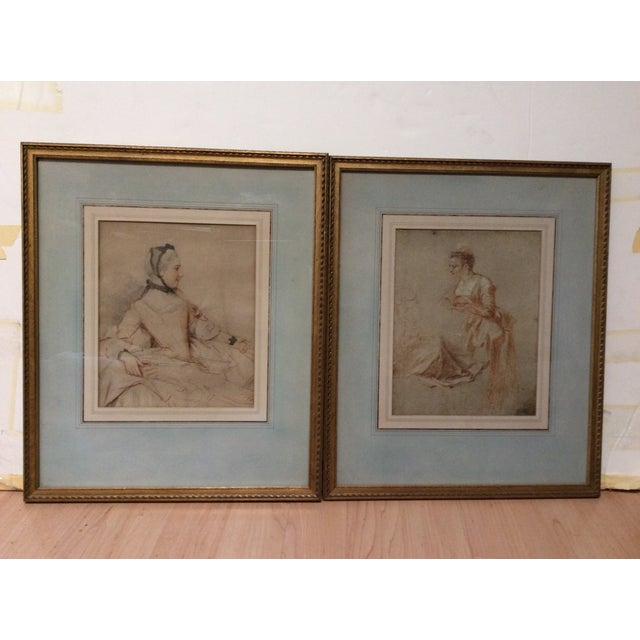 Decorative Prints of Old Master Drawings - A Pair - Image 5 of 8