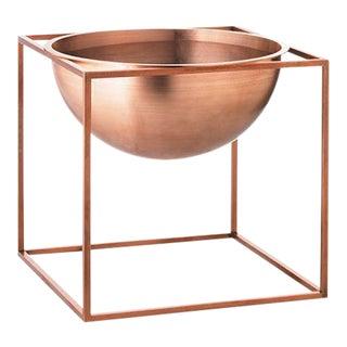 Kubus Large Copper Bowl
