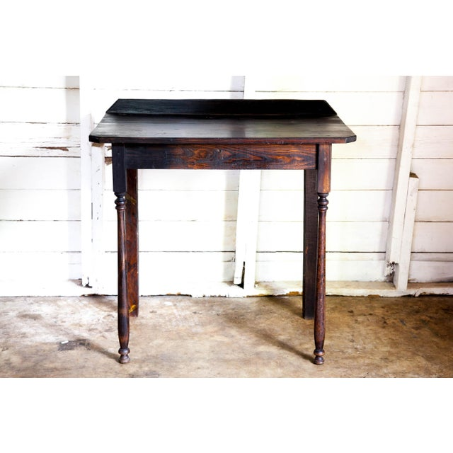 1960s Vintage Texana Solid Wood Lectern/Writing Table For Sale - Image 5 of 5
