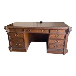Vintage Ellis Executive Desk For Sale