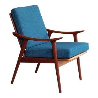 1960s Vintage Frederik Kayser for Vatne Norway Model 563 Teak Chair For Sale