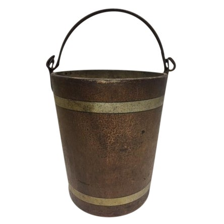 1880s Water Bucket For Sale