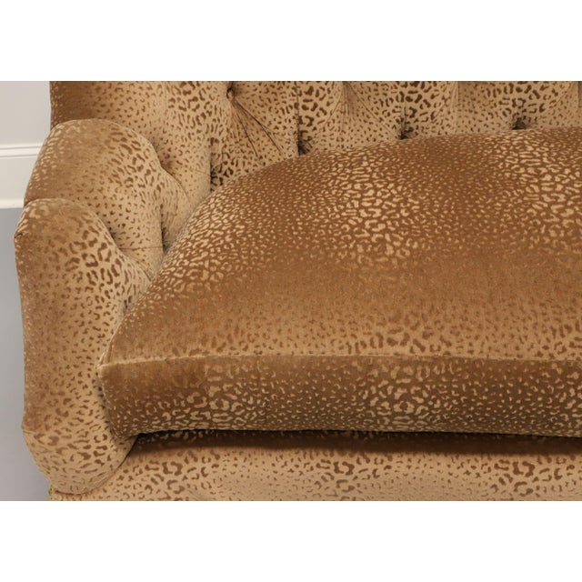 """Wood Marge Carson Transitional 74"""" Loveseat For Sale - Image 7 of 13"""