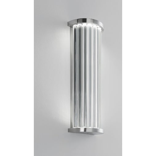 Deluxe Wall Light. This light is made with clear individual glass rods for luxury style. The light can be used in the...