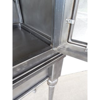 Modern Welded Steel Designer 2 Door Display Cabinet Preview