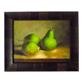 'Pears' Oil Painting For Sale