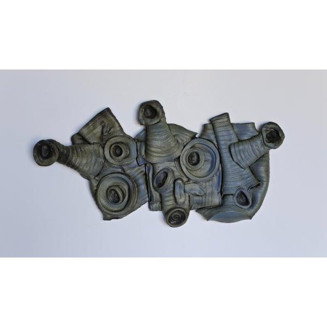 Ceramic Tim Keenan Ceramic Wall Sculpture For Sale - Image 7 of 7