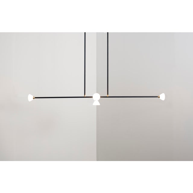 Apollo 5 Chandelier by McKenzie & Keim For Sale - Image 10 of 10