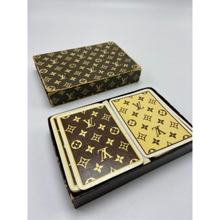 Set of Louis Vuitton Playing Cards Preview