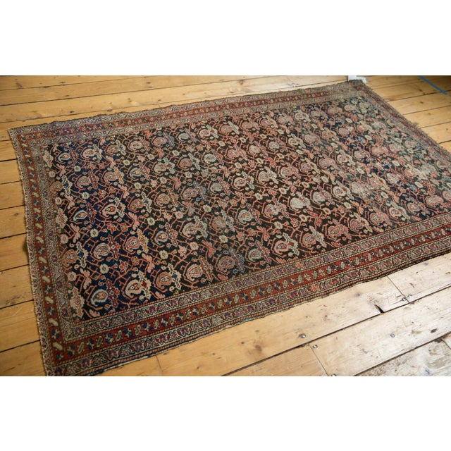 "Old New House Antique Fine Malayer Rug - 4'1"" X 6'4"" For Sale - Image 4 of 13"