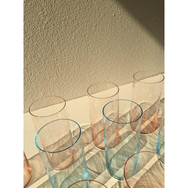 Glass Vintage Gucci Glasses- Set of 16 For Sale - Image 7 of 8