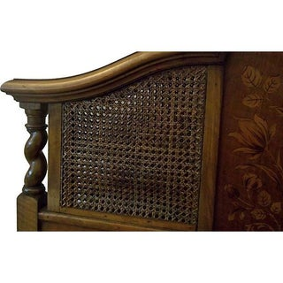 Early 20th Century English Walnut Twin Bedframe Preview