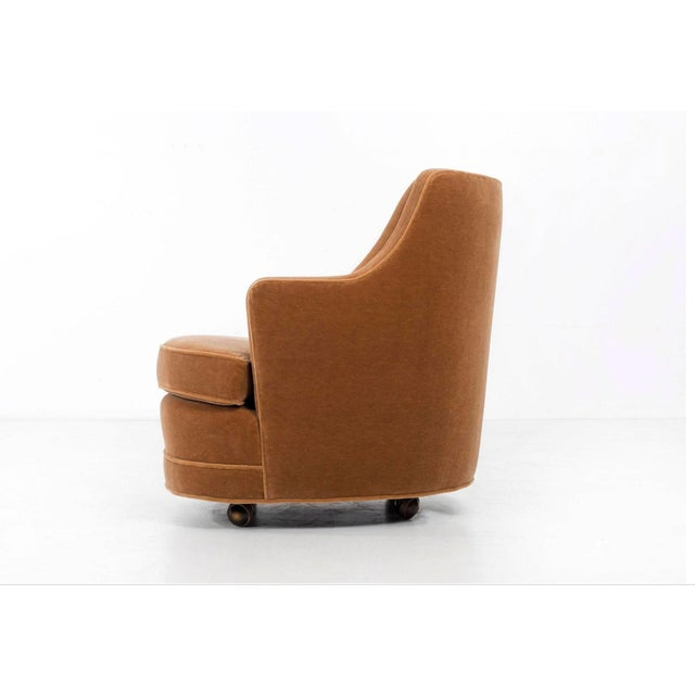 Mid-Century Modern Edward Wormley Lounge Chair dor Dunbar For Sale - Image 3 of 9