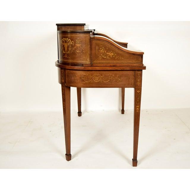 1900s English Carlton Desk - Image 5 of 11