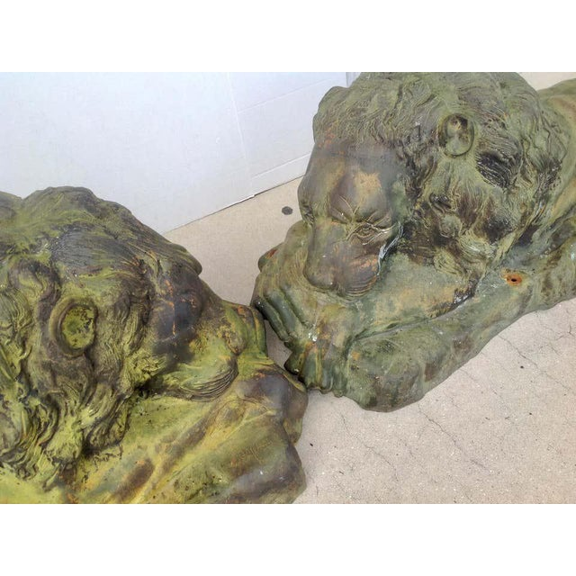Pair of Lions For Sale - Image 11 of 13