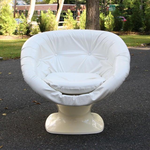 Raphael Raffel Space Age Plastic Tub Chair | Chairish
