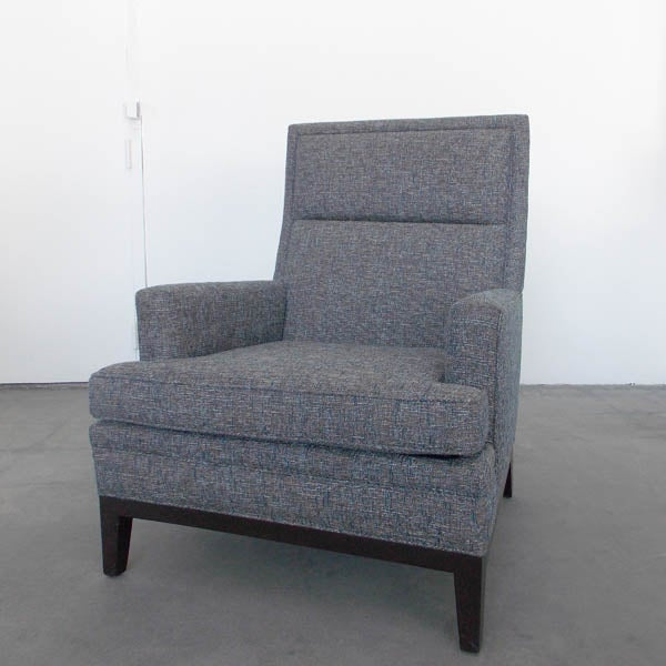 Mid-Century High Back Club Chair - Image 2 of 7