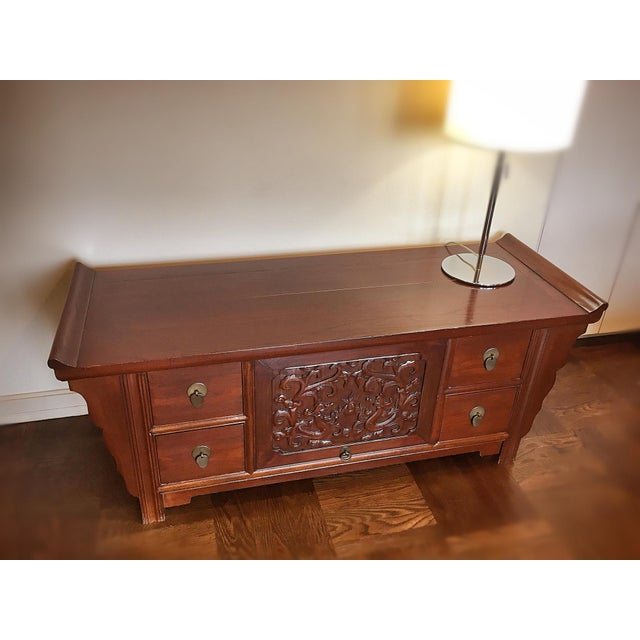 Authentic Chinese TV Cabinet - Image 7 of 8