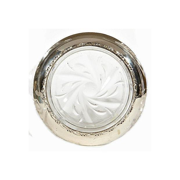 Sterling Silver & Glass Coasters - Set of 5 - Image 2 of 3