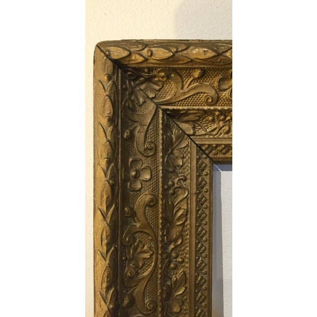 Large Antique Gilt Wood Frame - Image 3 of 8