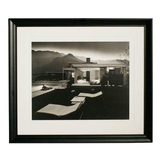 "Julius Shulman ""1947 Kaufman House Palms Springs"" Print, Signed For Sale"