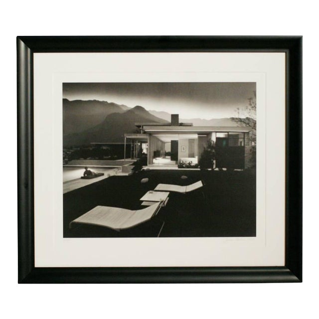 "Julius Shulman ""1947 Kaufman House Palms Springs"" Print, Signed - Image 1 of 3"