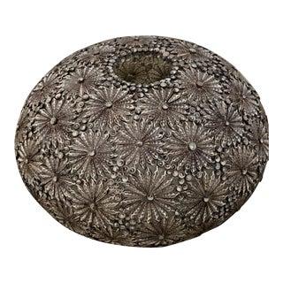 Mid-Century Modern Floral Lantern For Sale