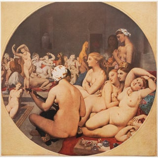 """The Turkish Bath"" by Ingres, 1940s Swiss Photogravure For Sale"