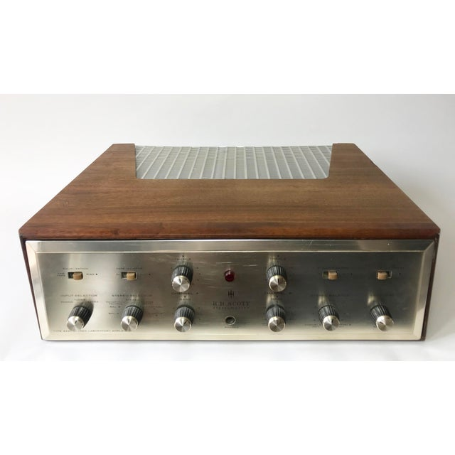 1960's Vintage MCM Hh Scott Integrated Tube Amplifier 222c For Sale - Image 12 of 12