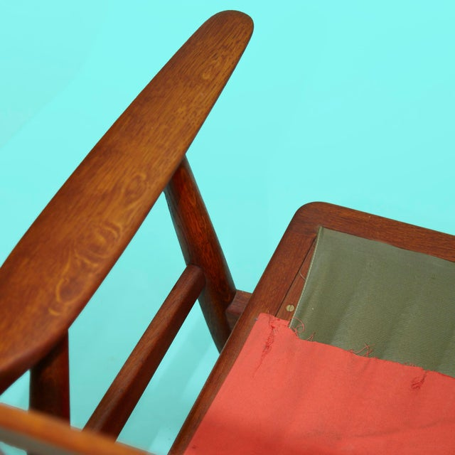 1960s Hans Wegner Cigar Sofa For Sale - Image 9 of 11