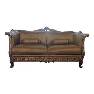Henredon Custom Sofa - Rare One of One Piece For Sale