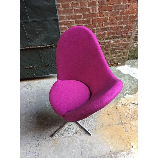 Verner Panton Verner Panton Style Heart Chair For Sale - Image 4 of 8