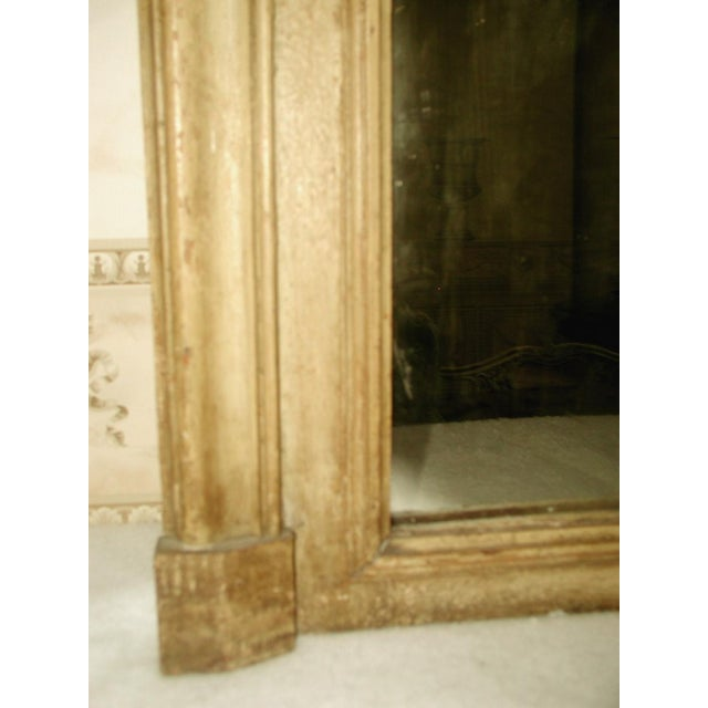 French Trumeau Mirror Canvas Oil Painting, 19th C. - Image 5 of 8